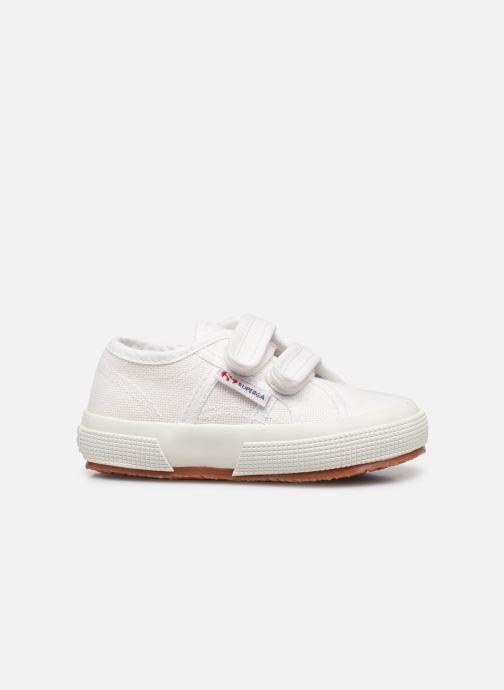 Sneaker Superga 2750 J Velcro E weiß ansicht von hinten