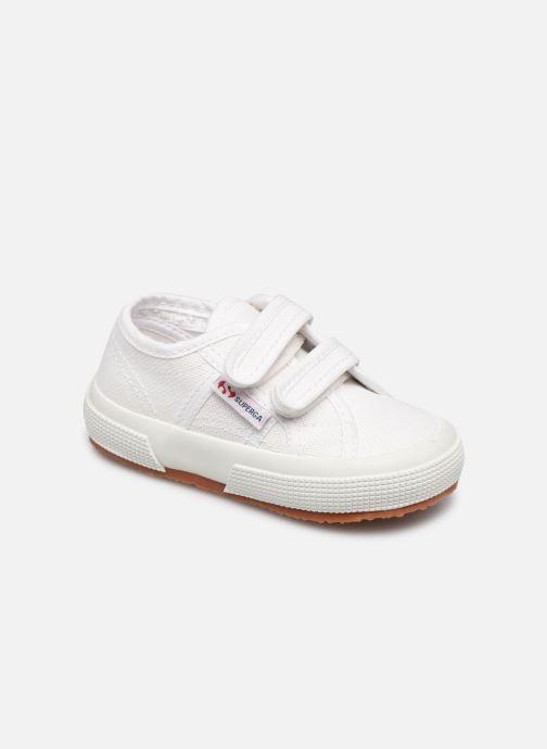Sneakers Superga 2750 J Velcro E Hvid detaljeret billede af skoene