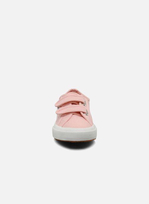 Sneakers Superga 2750 J Velcro E Pink se skoene på