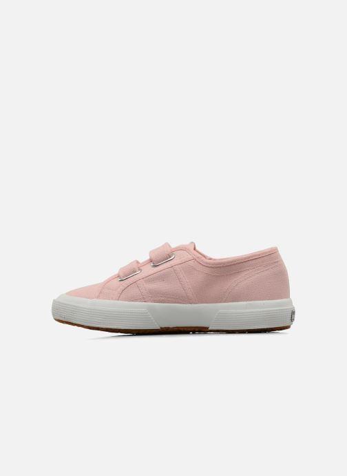 Sneaker Superga 2750 J Velcro E rosa ansicht von vorne