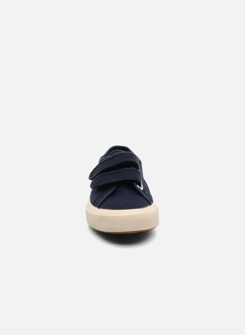 Sneakers Superga 2750 J Velcro E Blå se skoene på