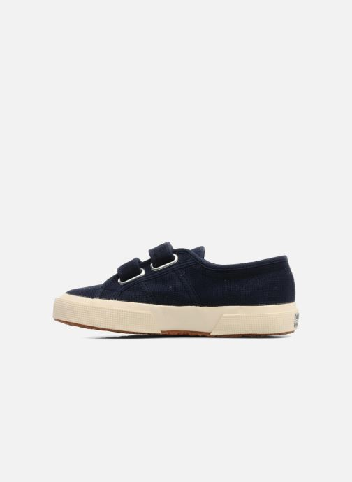 Trainers Superga 2750 J Velcro E Blue front view