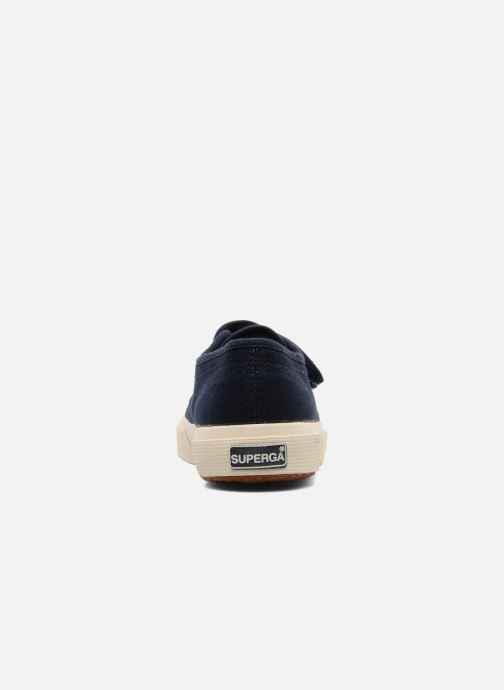 Trainers Superga 2750 J Velcro E Blue view from the right