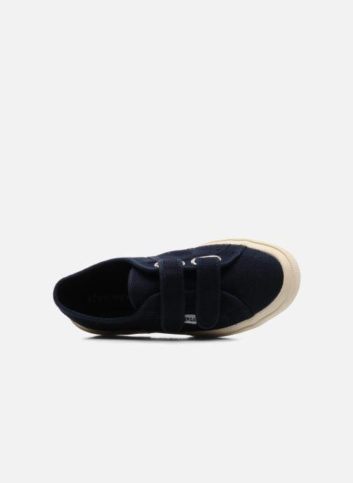 Sneakers Superga 2750 J Velcro E Blå se fra venstre