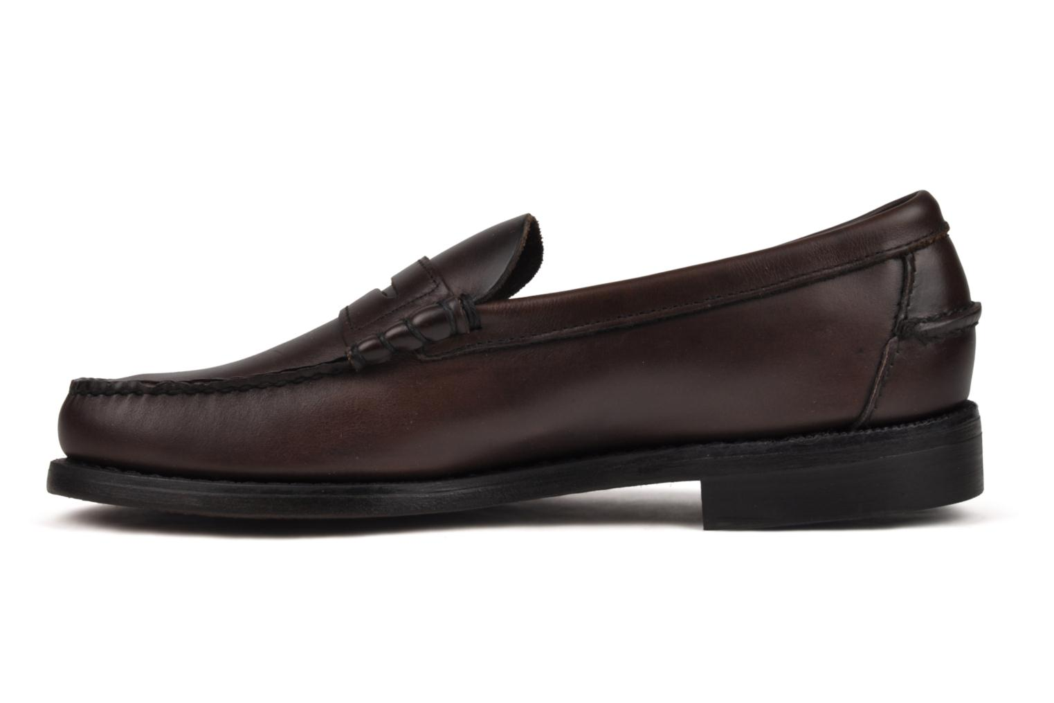 Loafers Sebago Classic Brown front view