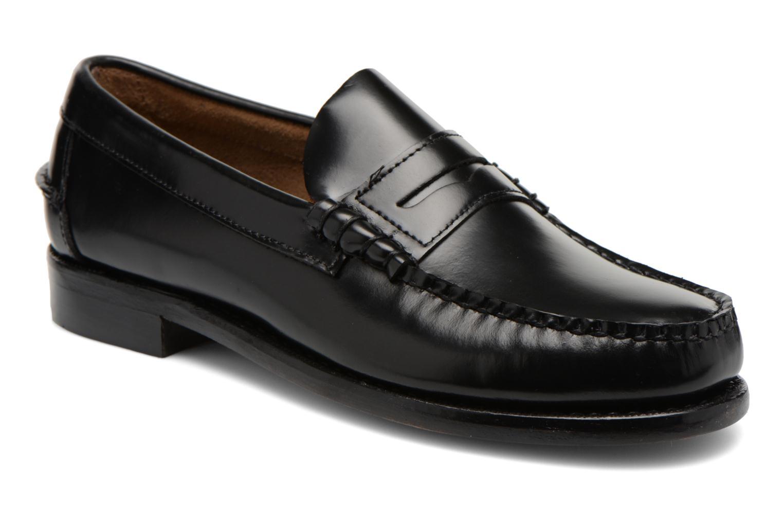 Mocassins Sebago Classic Zwart detail