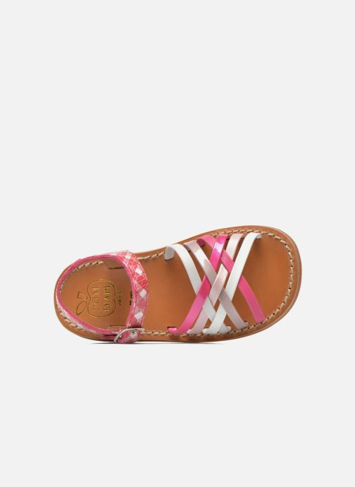 Sandalen Pom d Api Yapo Lux Roze links