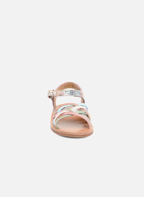 Sandales et nu-pieds Pom d Api Yapo Lux Multicolore vue portées chaussures