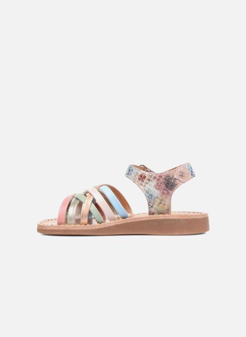 Sandalen Pom d Api Yapo Lux mehrfarbig ansicht von vorne