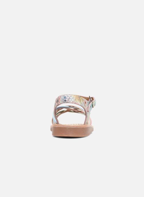 Sandalen Pom d Api Yapo Lux mehrfarbig ansicht von rechts