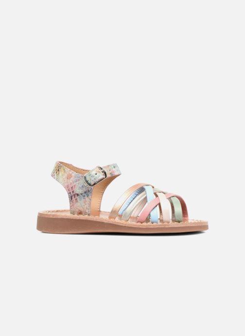Sandales et nu-pieds Pom d Api Yapo Lux Multicolore vue derrière