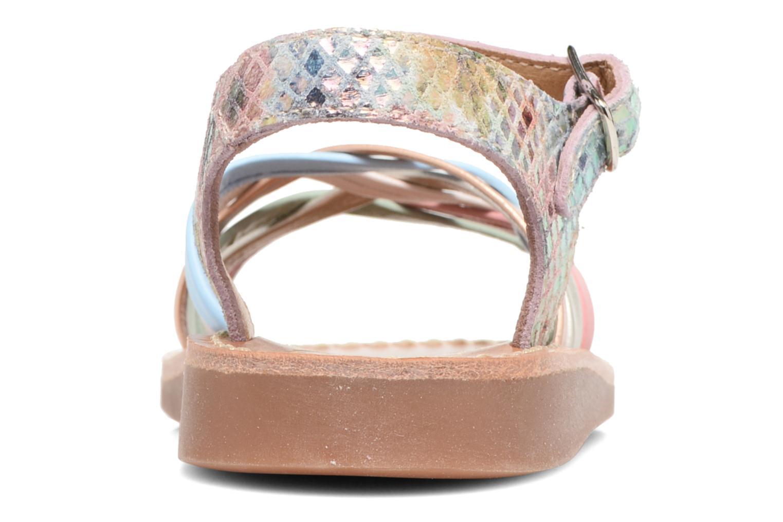 Sandales et nu-pieds Pom d Api Yapo Lux Multicolore vue droite