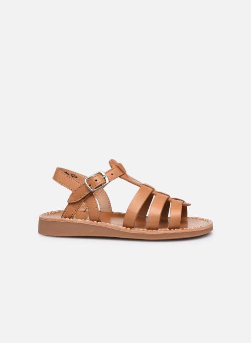 Sandali e scarpe aperte Pom d Api Yapo Strap Marrone immagine posteriore