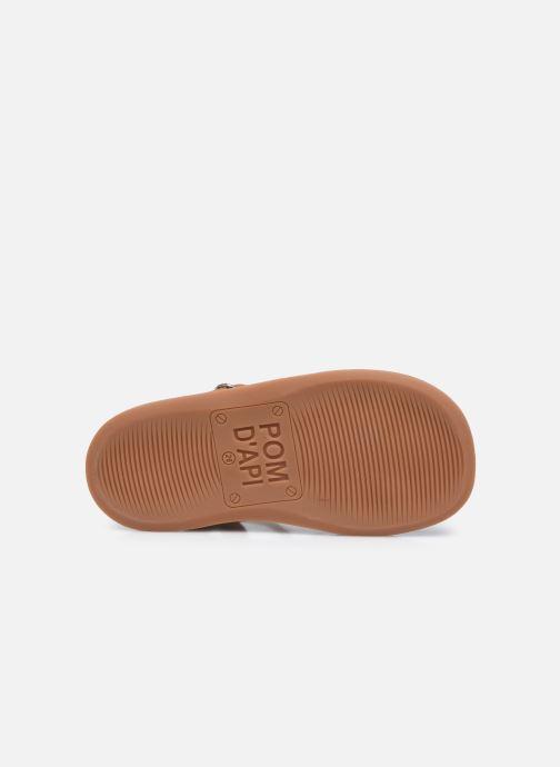 Sandali e scarpe aperte Pom d Api Yapo Strap Marrone immagine dall'alto