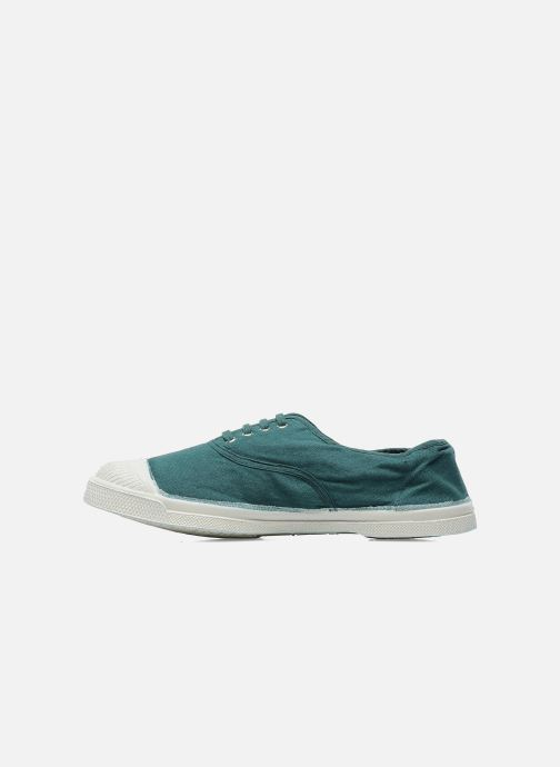 Baskets Bensimon Tennis Lacets W Vert vue face