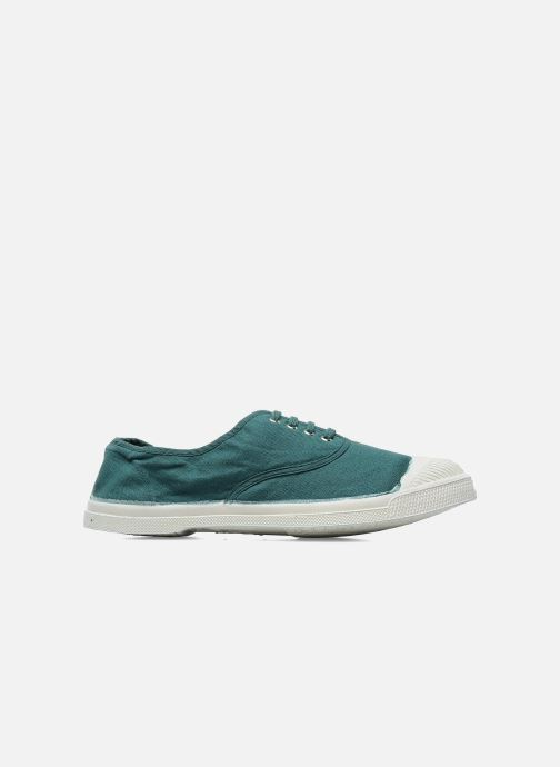 Trainers Bensimon Tennis Lacets Green back view