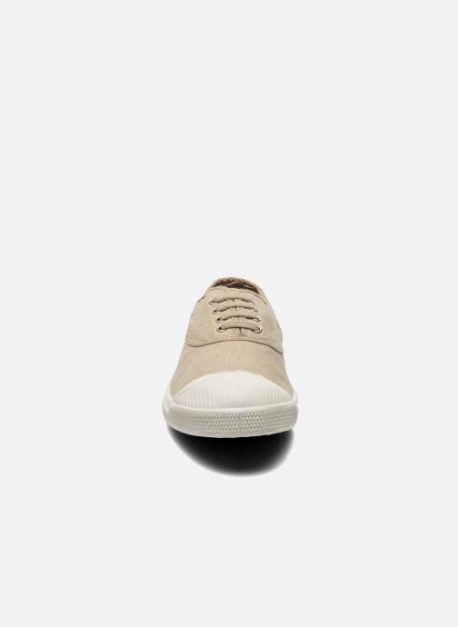 Sneaker Bensimon Tennis Lacets beige schuhe getragen