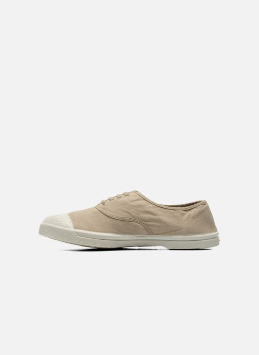 Baskets Bensimon Tennis Lacets W Beige vue face