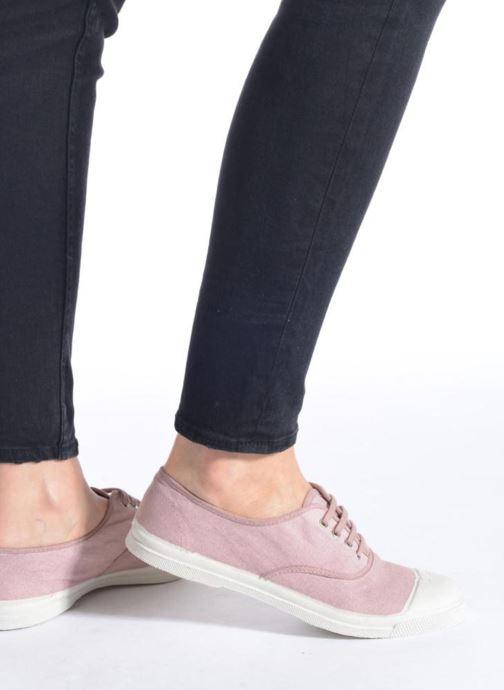 Sneaker Bensimon Tennis Lacets braun ansicht von unten / tasche getragen