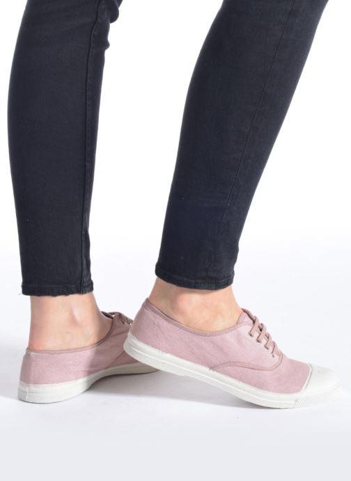 Sneakers Bensimon Tennis Lacets Beige immagine dal basso