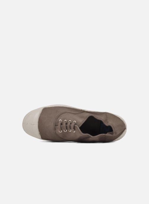 Sneakers Bensimon Tennis Lacets Beige immagine sinistra