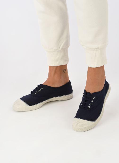 Sneakers Bensimon Tennis Lacets Azzurro immagine dal basso