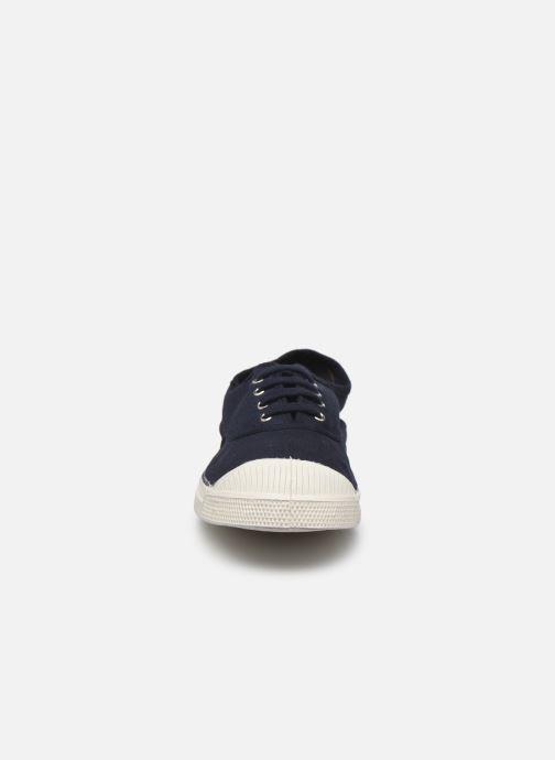 Baskets Bensimon Tennis Lacets W Bleu vue portées chaussures