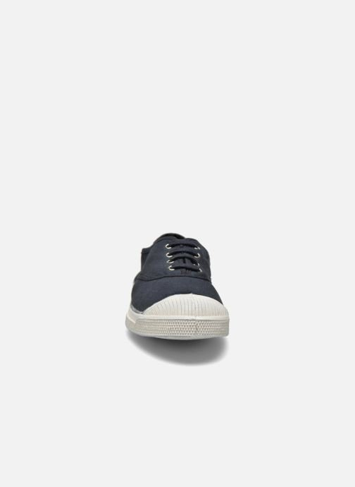 Trainers Bensimon Tennis Lacets Black model view