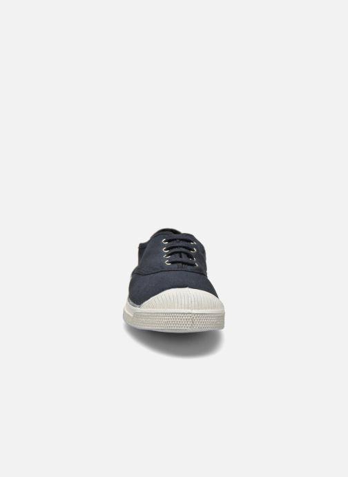 Sneakers Bensimon Tennis Lacets Nero modello indossato