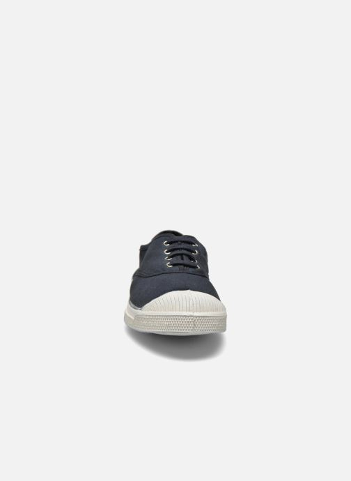 Sneakers Bensimon Tennis Lacets Nero modello indossato