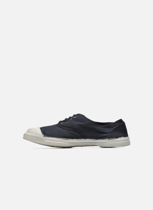 Trainers Bensimon Tennis Lacets Black front view