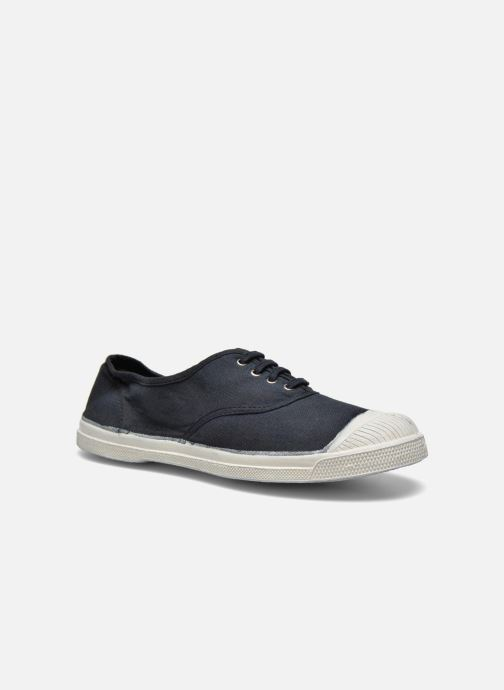 Trainers Bensimon Tennis Lacets Black detailed view/ Pair view
