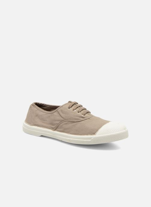 Baskets Bensimon Tennis Lacets W Marron vue détail/paire