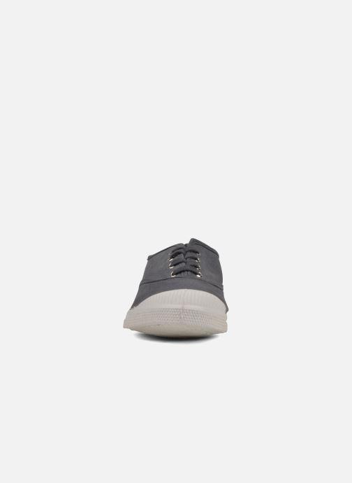Baskets Bensimon Tennis Lacets W Gris vue portées chaussures