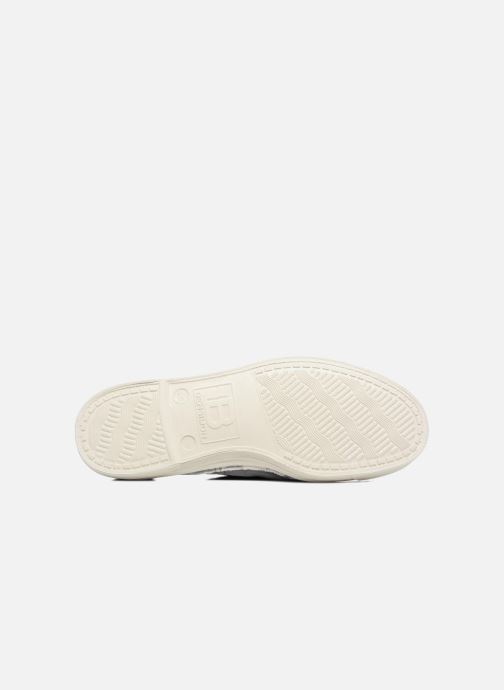 Baskets Bensimon Tennis Lacets W Gris vue haut