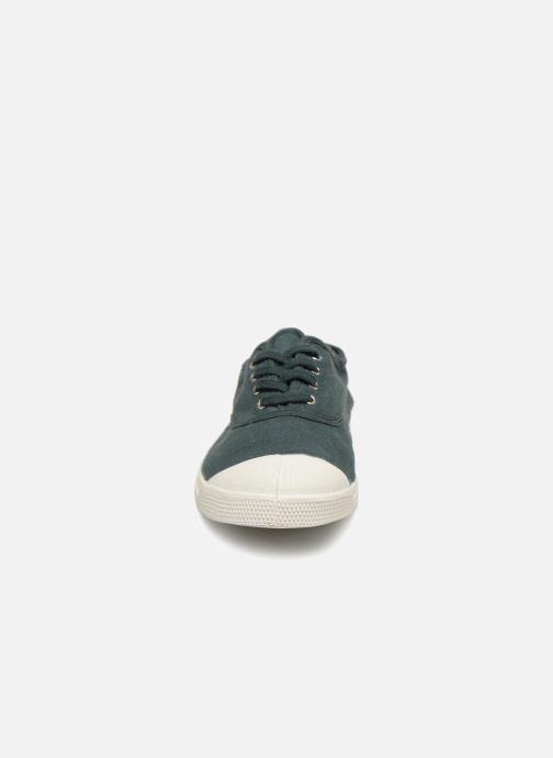 Baskets Bensimon Tennis Lacets W Vert vue portées chaussures