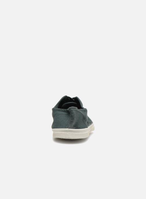 Sneaker Bensimon Tennis Lacets grün ansicht von rechts