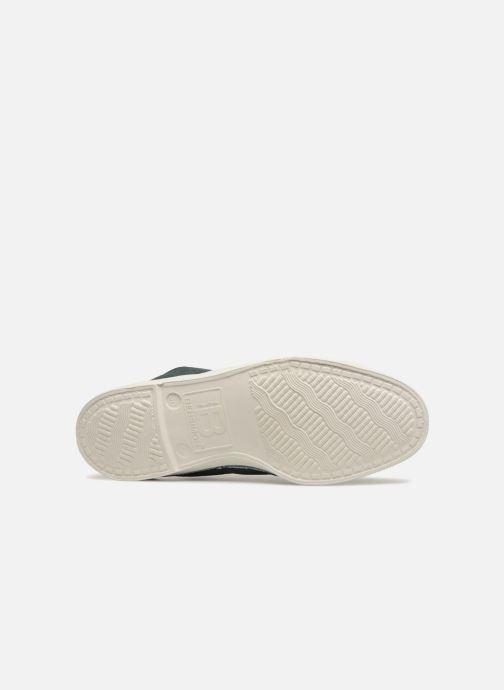 Sneaker Bensimon Tennis Lacets grün ansicht von oben
