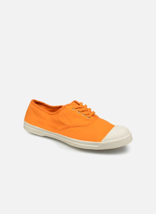 Baskets Bensimon Tennis Lacets W Orange vue détail/paire