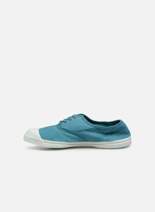 Baskets Bensimon Tennis Lacets W Bleu vue face