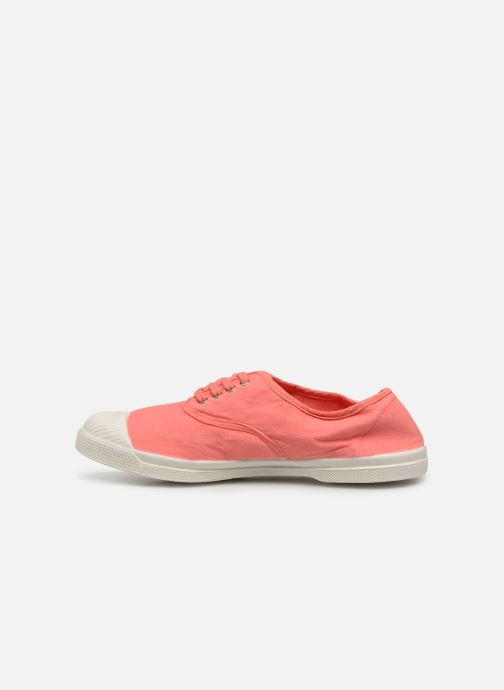 Baskets Bensimon Tennis Lacets W Rose vue face