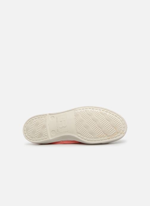 Baskets Bensimon Tennis Lacets W Rose vue haut