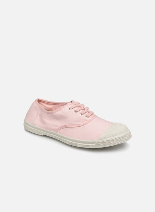 Baskets Bensimon Tennis Lacets W Rose vue détail/paire