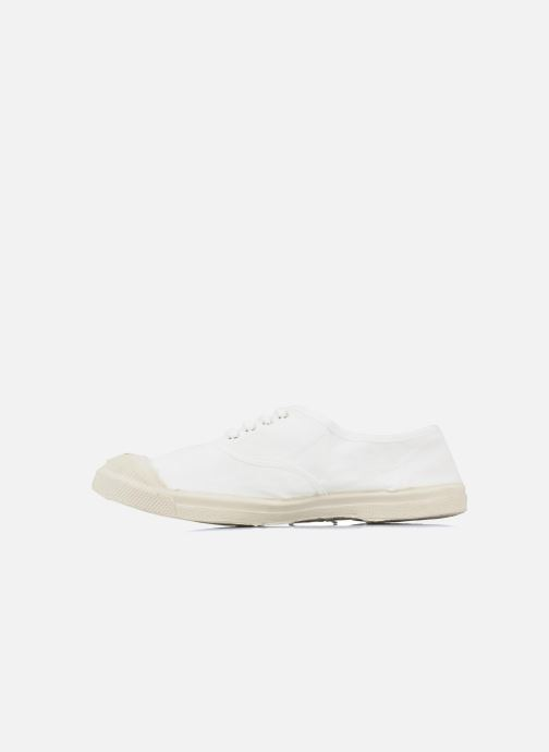 Trainers Bensimon Tennis Lacets White front view