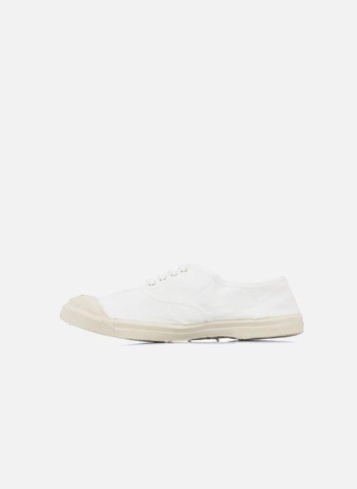 Sneakers Bensimon Tennis Lacets Wit voorkant