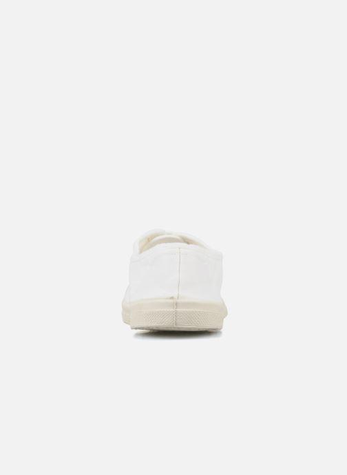 Sneakers Bensimon Tennis Lacets Bianco immagine destra