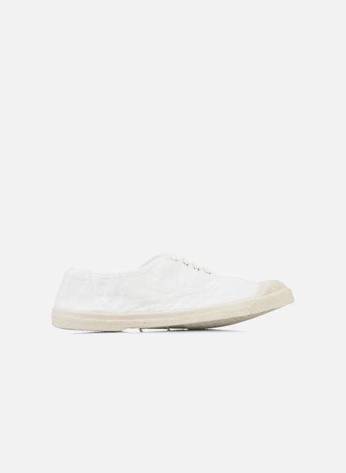 Trainers Bensimon Tennis Lacets White back view