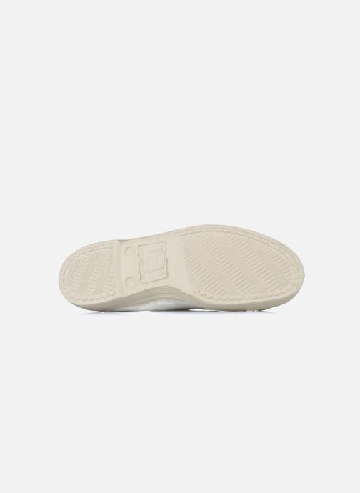 Trainers Bensimon Tennis Lacets White view from above