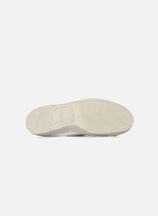 Sneakers Bensimon Tennis Lacets Bianco immagine dall'alto