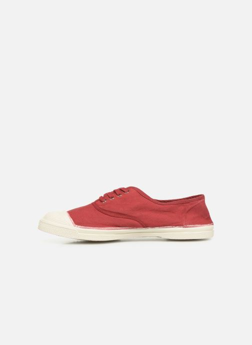Sneakers Bensimon Tennis Lacets Bordeaux voorkant
